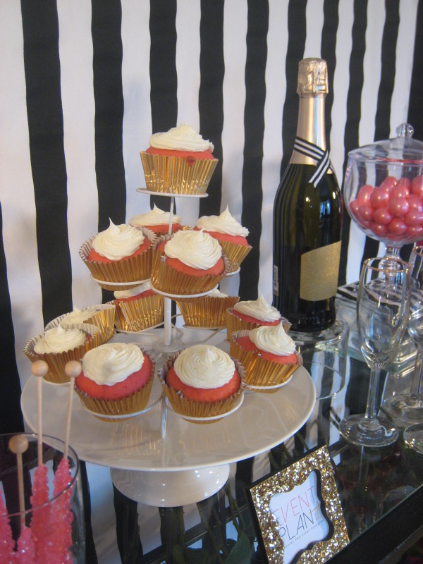 Cupcakes and Champagne