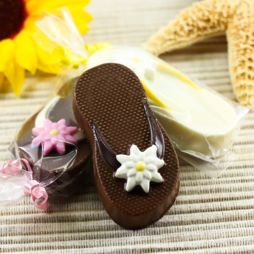 wedding favor Beau-Coup Flip Flop Chocolate Covered Oreo