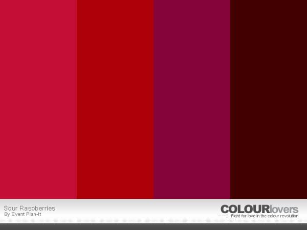 Sour Raspberries - ColourLovers.com