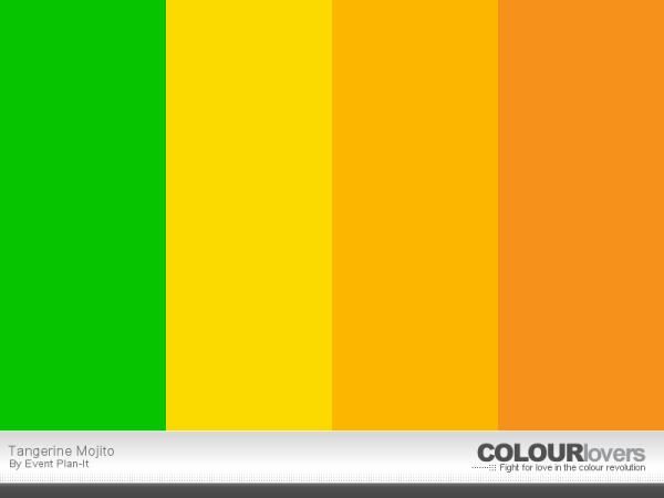 Tangerine Mojito - ColourLovers.com