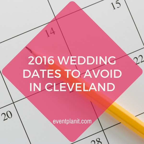 09.30.15 2016 Wedding Dates to Avoid