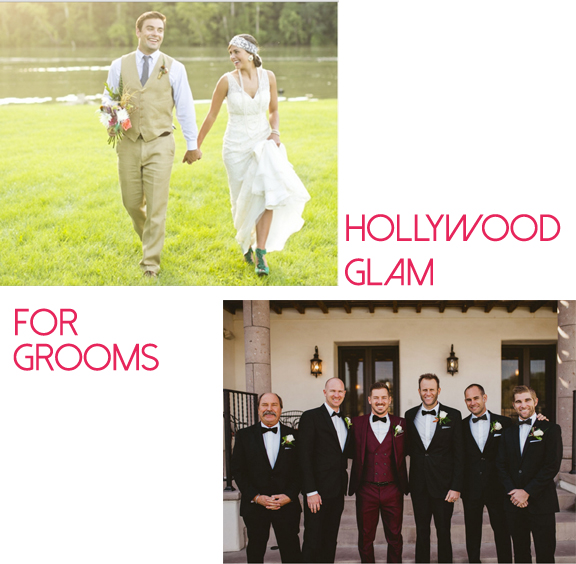 grooms collage