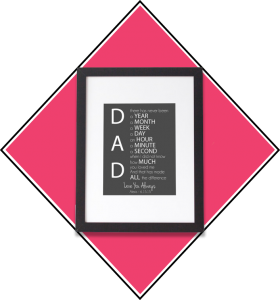 print for dad