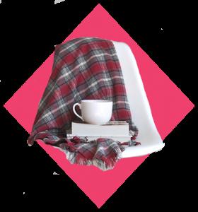 11. Fringed Flannel Blanket
