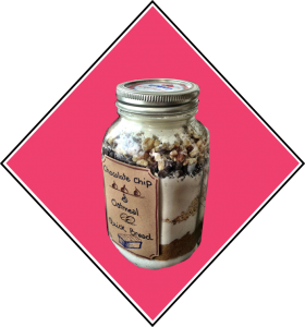 4. Chocolate Chip & Oatmeal Bread in a Jar