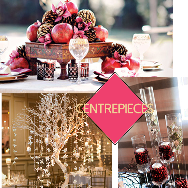 centrepieces collage